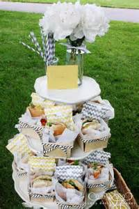 Picnic Baby Shower Food Ideas