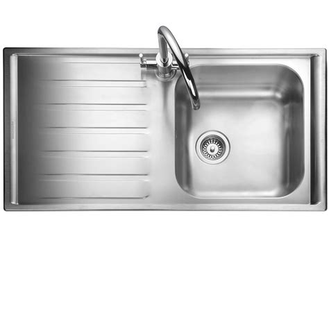stainless steel kitchen sink kitchen sinks taps rangemaster manhattan mn10101