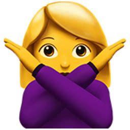 Girl Emoji Crossing Arms