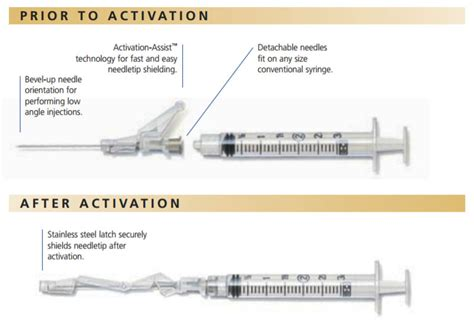 bd 305900 safetyglide 22 g x 1 5 in shielding sterile im hypodermic needle regular wall