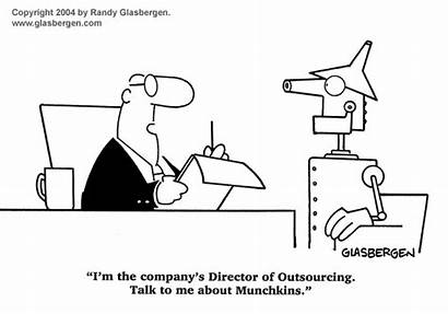 Global Cartoons Economy Outsourcing Business Glasbergen Cartoon