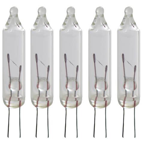clear replacement string light bulbs 5 bulbs