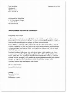 Ausbildung Bundespolizei Nrw : die bewerbung bei der polizei das anschreiben die ausbildung bei der polizei ~ Markanthonyermac.com Haus und Dekorationen
