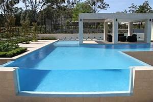 piscine moderne design cobtsacom With amenagement exterieur maison contemporaine 10 gazebo et abri soleil des idees pour jardin avec piscine