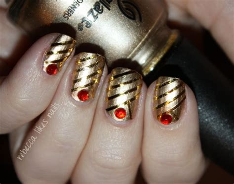 Nail Art Inspired By The Warrior Heir By Cinda Williams