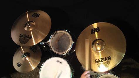 Hd Video Sabian B8 Cymbal Set