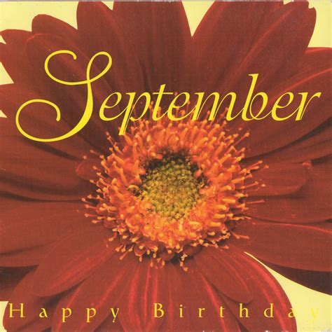 SEPTEMBER HAPPY BIRTHDAY - Twin Sisters, Celebration of Life CD