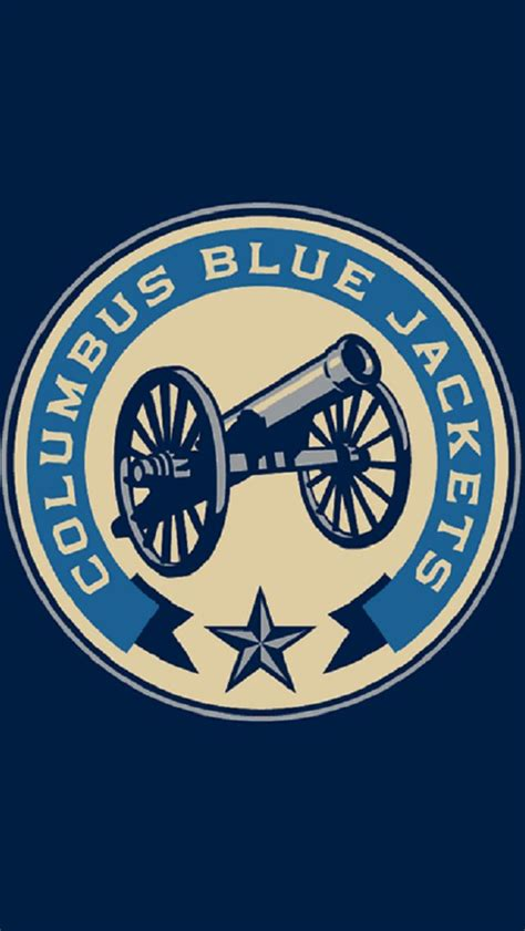 Columbus Blue Jackets Iphone Wallpaper Columbus Blue Jackets 2010 Nhl Iphone Wallpapers Pinterest Jackets And Blue