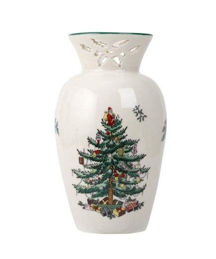 spode christmas tree vase princess decor
