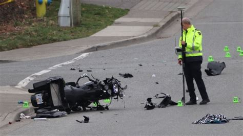 Motorcycle Passenger In Critical Condition After Crash In