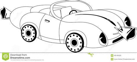 cartoon car black and white cartoon car stock vector image of drive emotion sketch