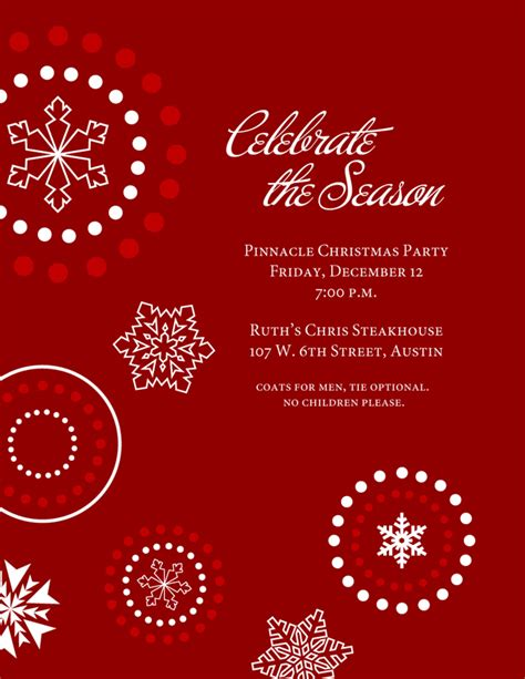 holiday invitation templates Graphics and Templates