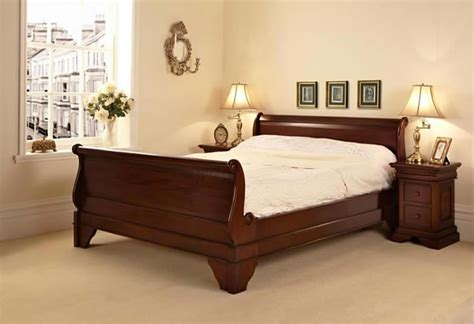 Product of the Week - Mahogany Sleigh Super King Size Bed