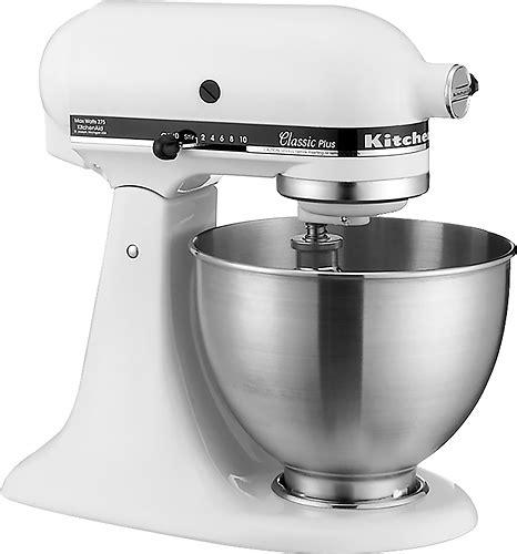 Kitchenaid Classic Stand Mixer White Ksm75wh  Best Buy