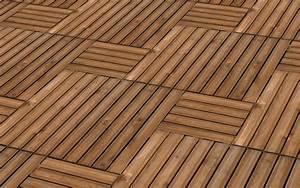 Dalle Bois Terrasse 100x100 : dalle en pin teint e marron 100x100 cm brico d p t ~ Melissatoandfro.com Idées de Décoration