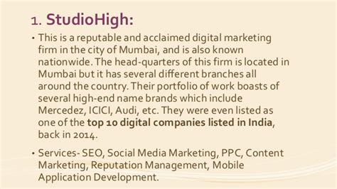 digital marketing companies in mumbai top 10 digital marketing companies in mumbai digital