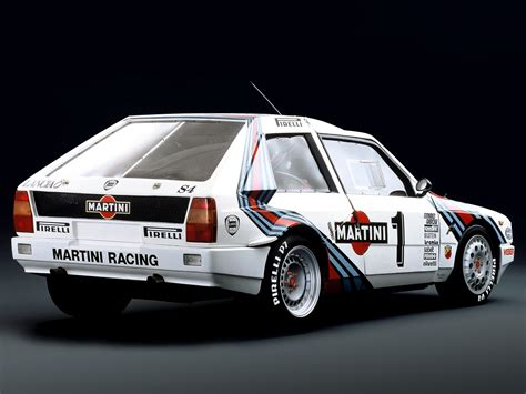 1985 Lancia Delta S4 Race Car Racing Rally Martini Italy
