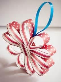 make a pretty paper ornament dollar store crafts