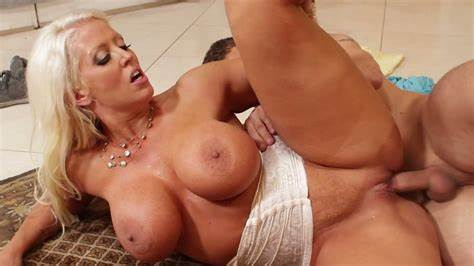 Georgette Shows Off The Most Popular Milf Breast Ever