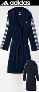 Bademantel Damen Adidas : dunkelblauer adidas bademantel mit kapuze erwachse ~ Orissabook.com Haus und Dekorationen
