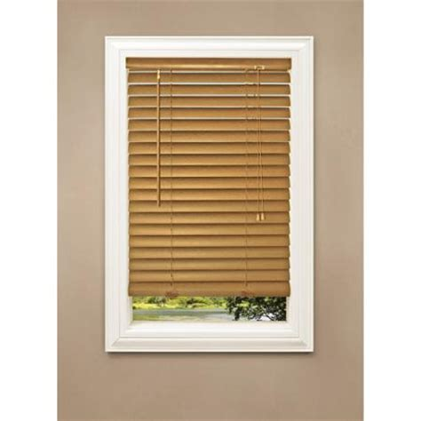 wood blinds walmart richfield studio 2 quot faux wood blinds walmart