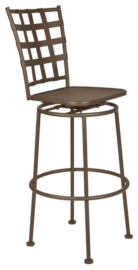bistro casa armless swivel bar stool eclectic outdoor
