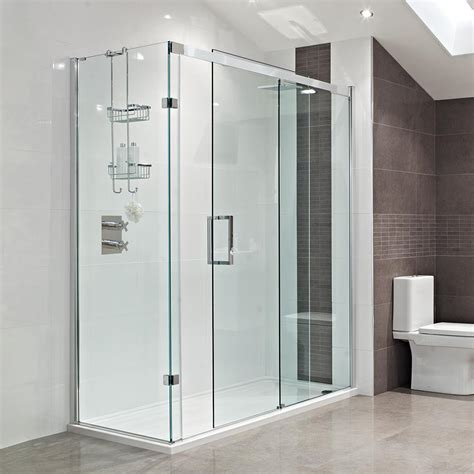 sliding glass doors in bathroom interiors