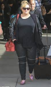 Rebel Wilson jets out of Las Vegas after partying with Justin Bieber and Kelly Osbourne   Daily ...