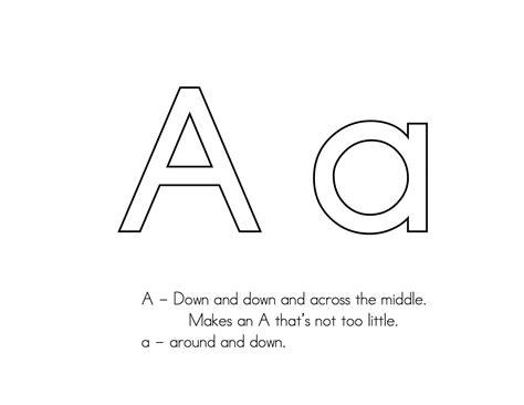 letter formation kindergarten preschool writing