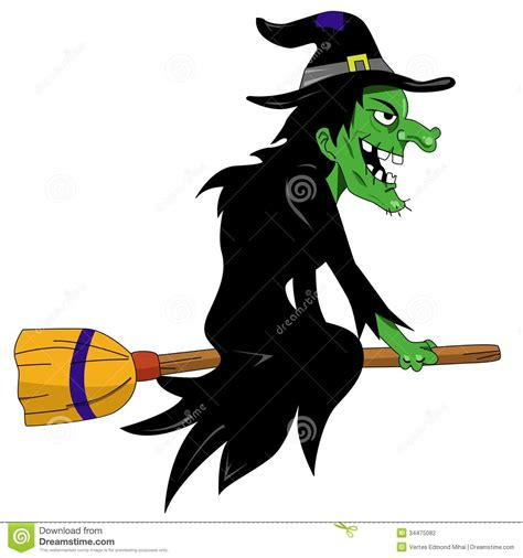 picture witch halloween witch stock vector illustration of october 34475082