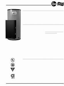 Rheem Water Heater 85 Gallon User Guide