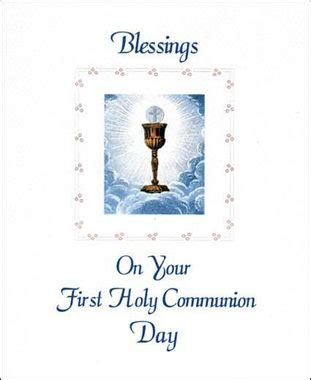 sisters carmel holy communion greeting card