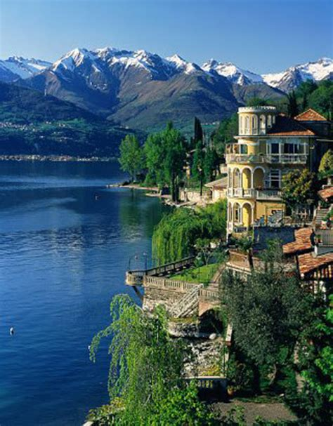 Places For Traveling Lake Como Lago Di Como In Italian