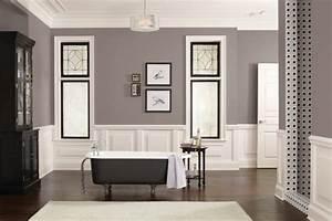 peinture salle de bain 2016 2017 77 photos qui vont With idee salle de bain couleur