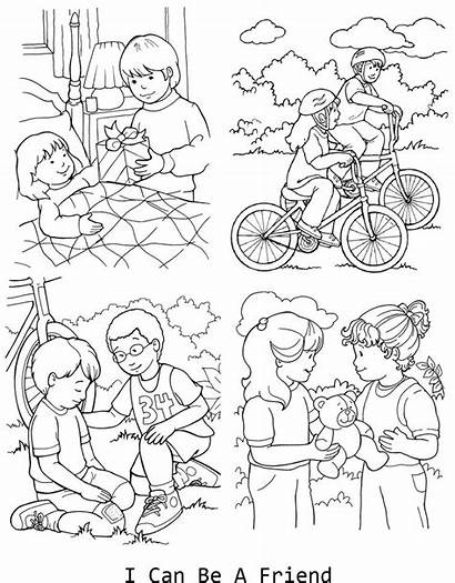 Lds Coloring Pages Primary Church Lessons Friend