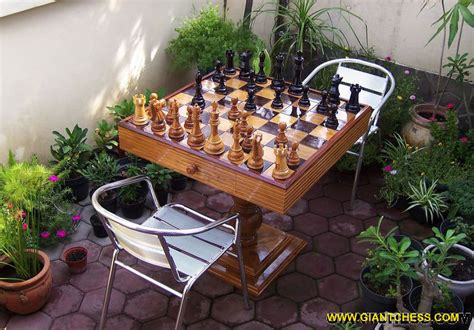 chess sets are great outdoor chess sets for garden