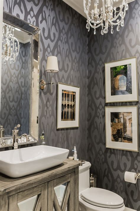 create       bathroom  wallpaper