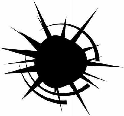 Bullet Hole Transparent Holes Svg Clipart Vector