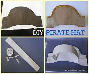 busy hands diy pirate hat sand in my toes With diy pirate hat template