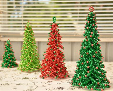beading pattern christmas tree tutorial beading