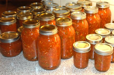 canning recipes canning salsa simplest things