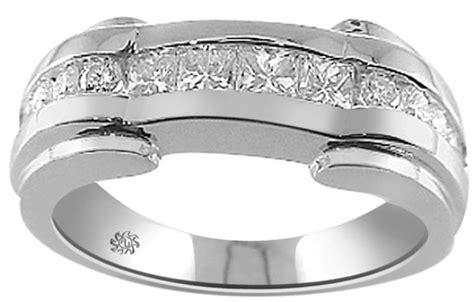mixed cut diamond mens rings