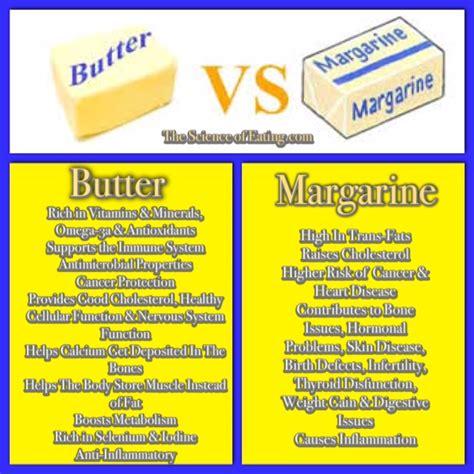 shortening vs butter butter vs margarine