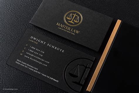 lawyer business cards free templates classic modern black duplex attorney business card