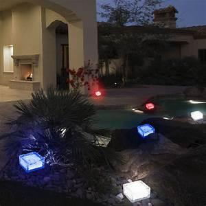 Eiswürfel Ohne Form : 3er set led solarleuchten farbig eisw rfel dekorationen au enlampen glas ip44 ebay ~ Fotosdekora.club Haus und Dekorationen