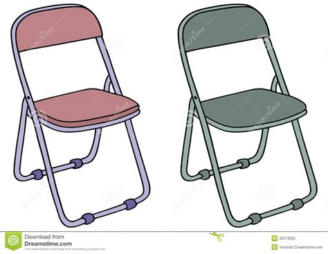 Camp Chair Stock Photography