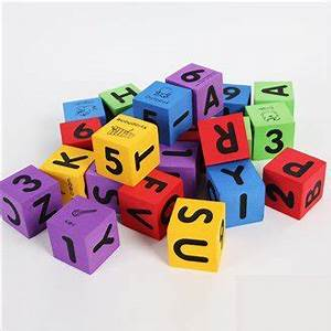 aliexpresscom buy 30pcs loteva foam dicefoam block With soft letter blocks
