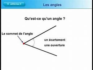 Qu Est Ce Qu Une Loggia : qu 39 est ce qu 39 un angle g om trie youtube ~ Dode.kayakingforconservation.com Idées de Décoration