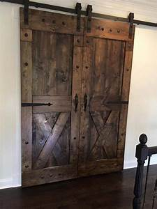 rustic sliding barn doors at affordable prices split 39x With cost of barn door hardware