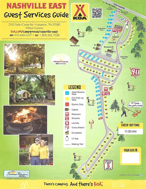 Lebanon, Tennessee Tent Camping Sites  Nashville East